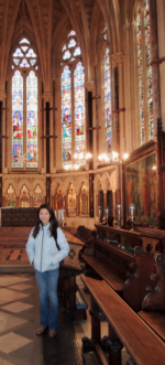 Jingyi Liu at Exeter Chapel